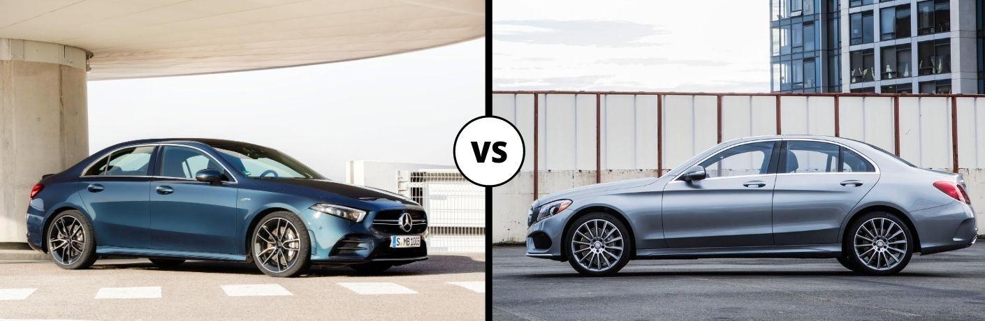 2020 Mercedes-Benz A-Class vs 2020 Mercedes-Benz C-Class