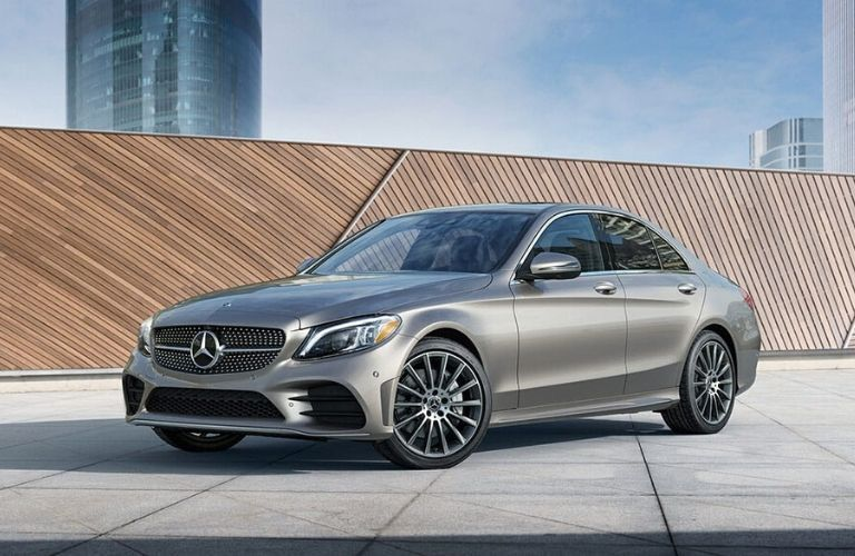 2020 Mercedes-Benz C-Class Sedan from exterior front drivers side