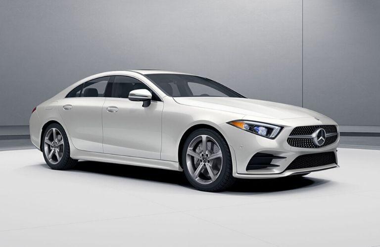 2020 Mercedes-Benz CLA from exterior passenger side
