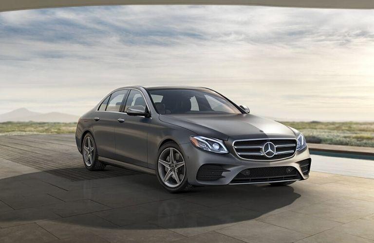 2020 Mercedes-Benz E-Class from exterior front passenger side
