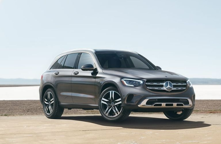 2020 Mercedes-Benz GLC from exterior front passenger side