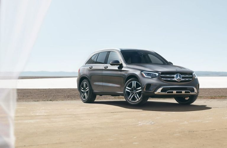 2020 Mercedes-Benz GLC in front of water