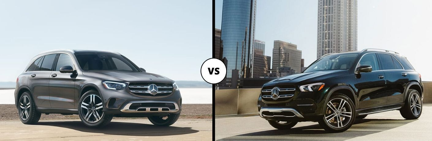 2020 Mercedes-Benz GLC vs 2020 Mercedes-Benz GLE