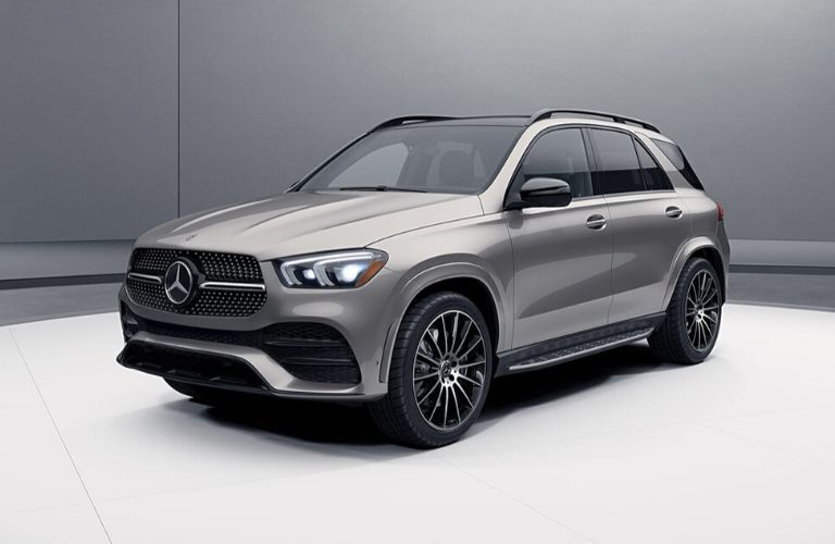 2020 Mercedes-Benz GLE SUV from exterior front drivers side