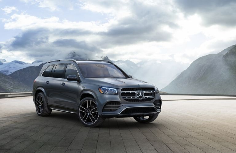 2020 Mercedes-Benz GLS from exterior front passenger side