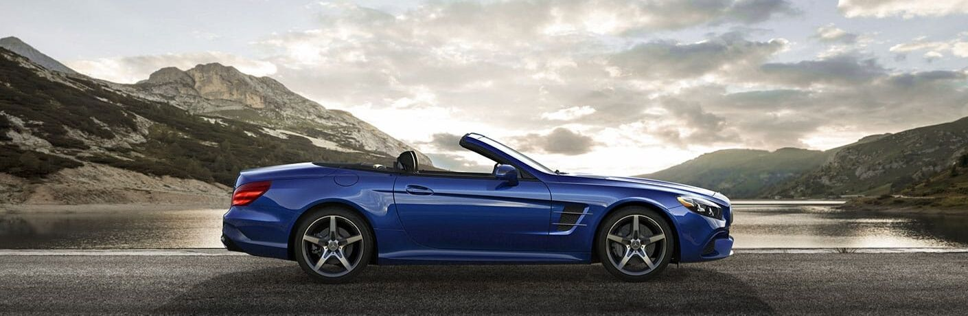 2020 Mercedes-Benz SL-Class Roadster from passenger side
