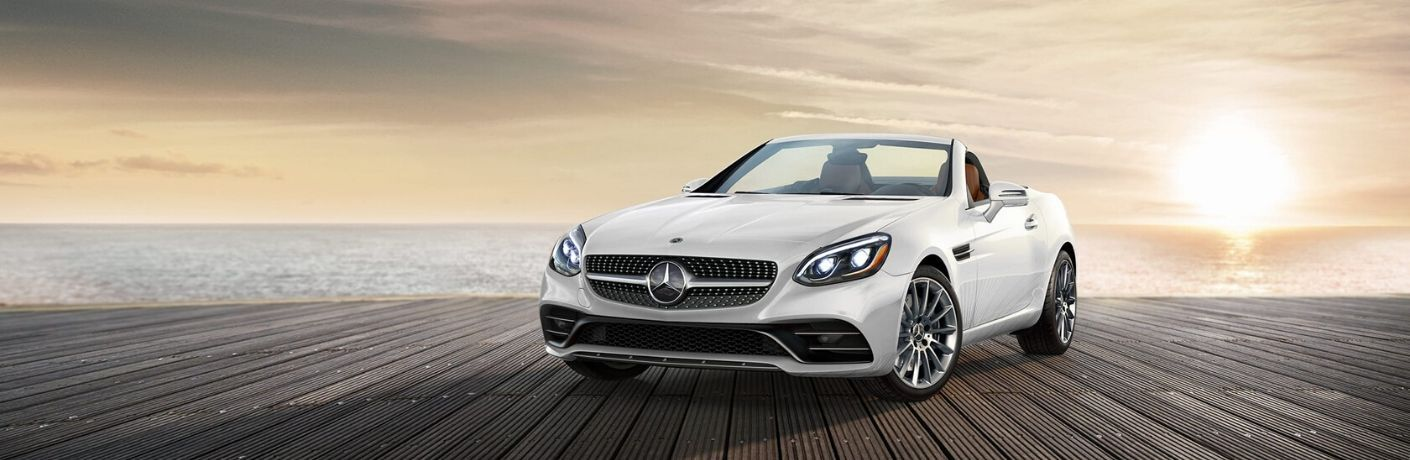 2020 Mercedes-Benz SLC from exterior front