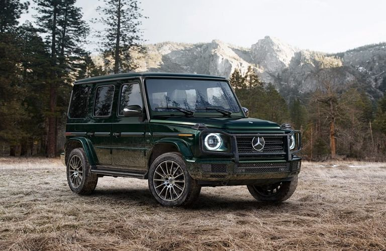 2020 Mercedes-Benz G-Class from exterior front