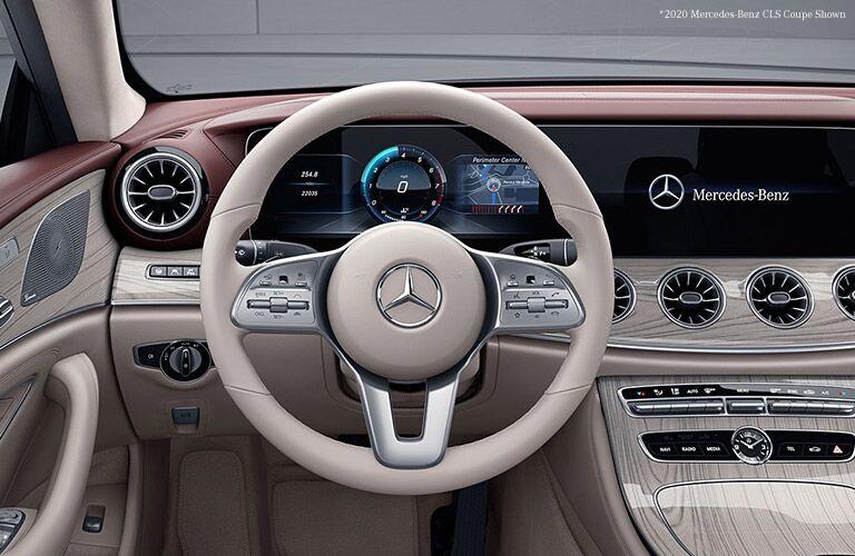 2021 Mercedes-Benz CLS interior front dash
