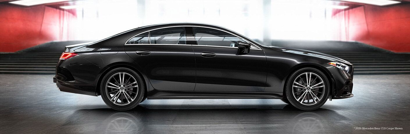 2021 Mercedes-Benz CLS Coupe from exterior passenger side_o