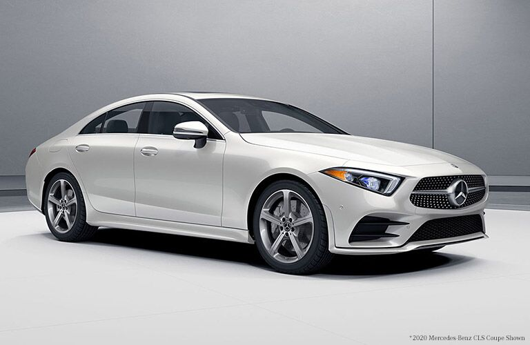 2021 Mercedes-Benz CLS from front passenger side_o