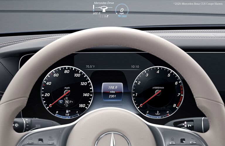2021 Mercedes-Benz CLS instrument cluster