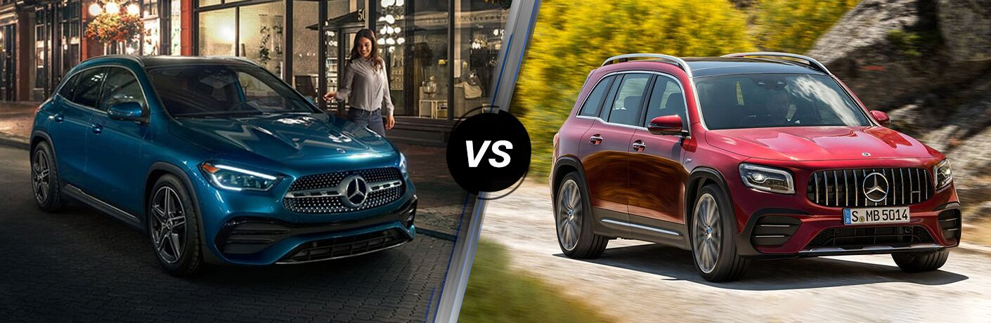 2021 Mercedes-Benz GLA vs 2021 Mercedes-Benz GLB