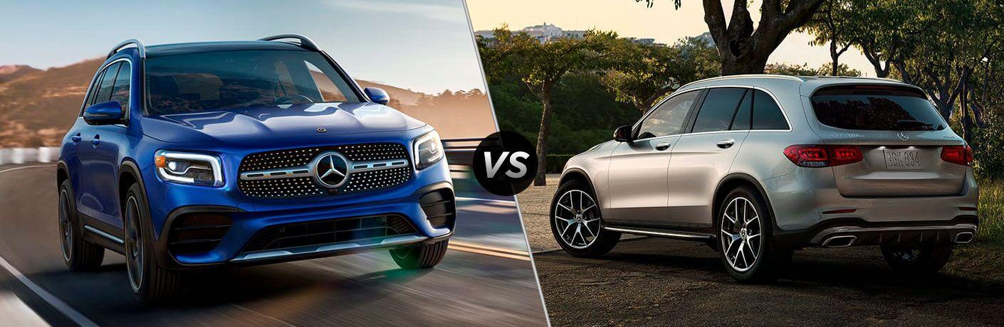 2021 Mercedes-Benz GLB vs 2021 Mercedes-Benz GLC