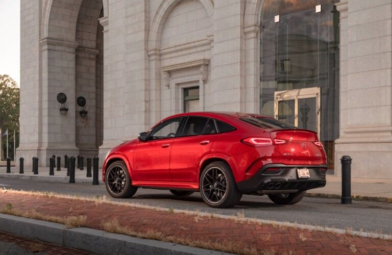 2021 Mercedes-AMG GLE 53 Coupe exterior rear