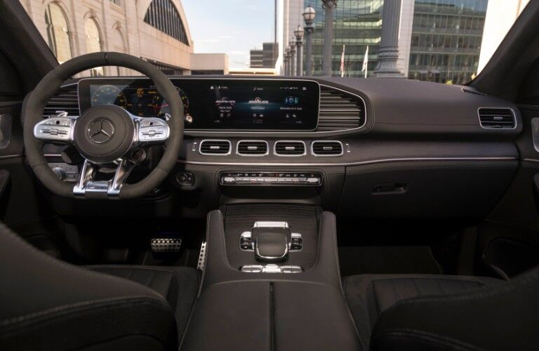 2021 Mercedes-AMG GLE 53 Coupe interior front dash