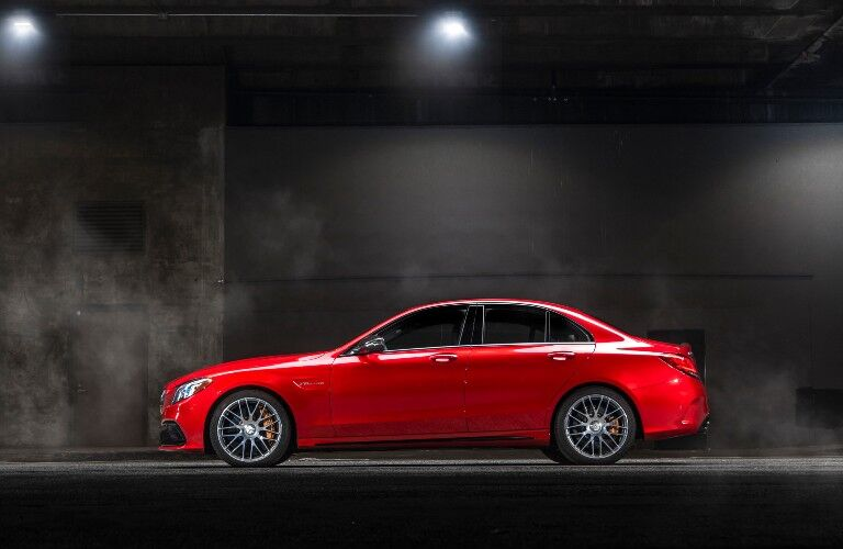 2021 Mercedes-Benz C-Class from exterior side