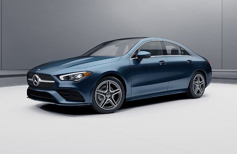 2021 Mercedes-Benz CLA from front