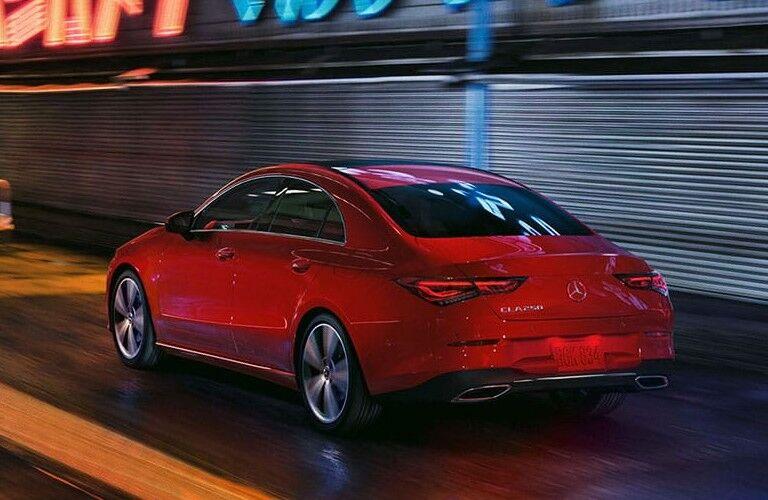 2021 Mercedes-Benz CLA from rear
