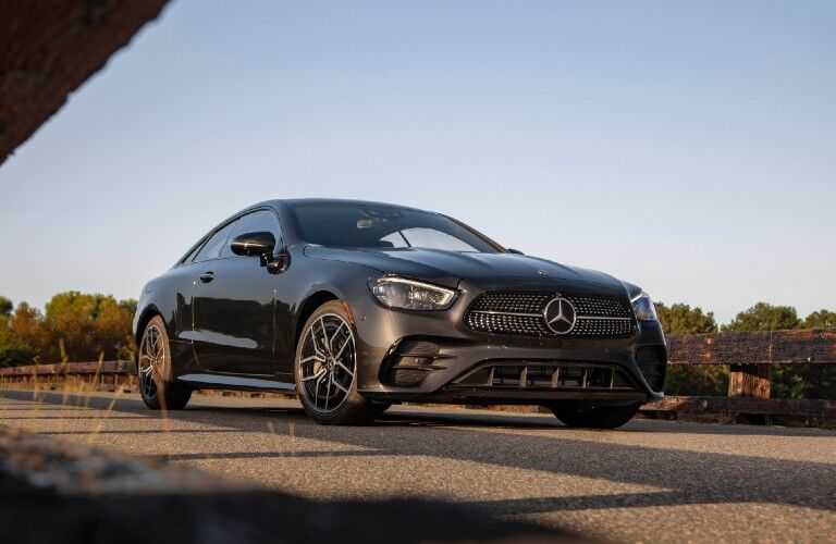 2021 Mercedes-Benz E-Class Coupe from front