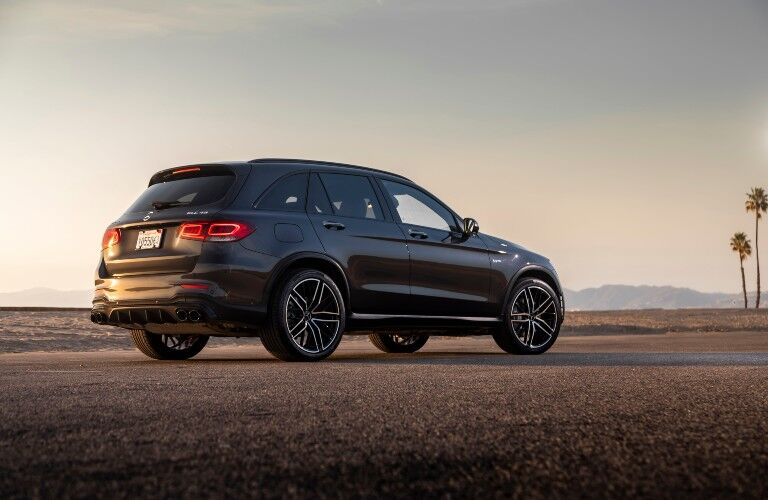 2021 Mercedes-Benz GLC SUV from exterior side
