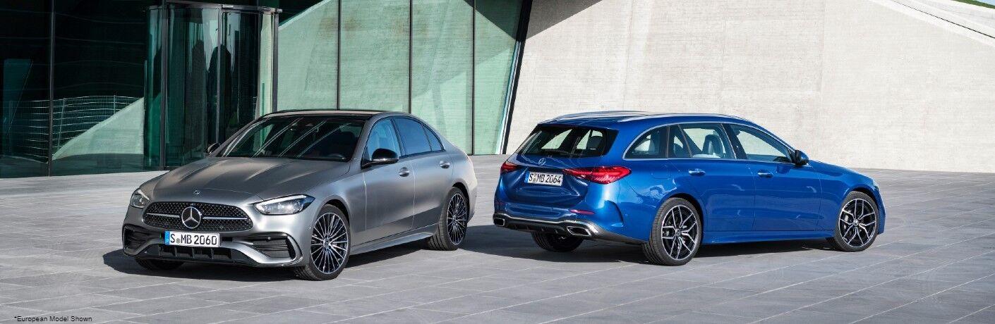 2022 Mercedes-Benz C-Class models
