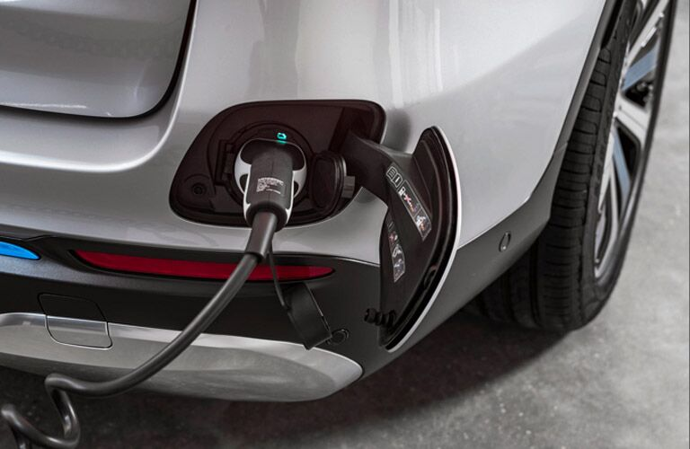 Charger on 2022 Mercedes-Benz EQS