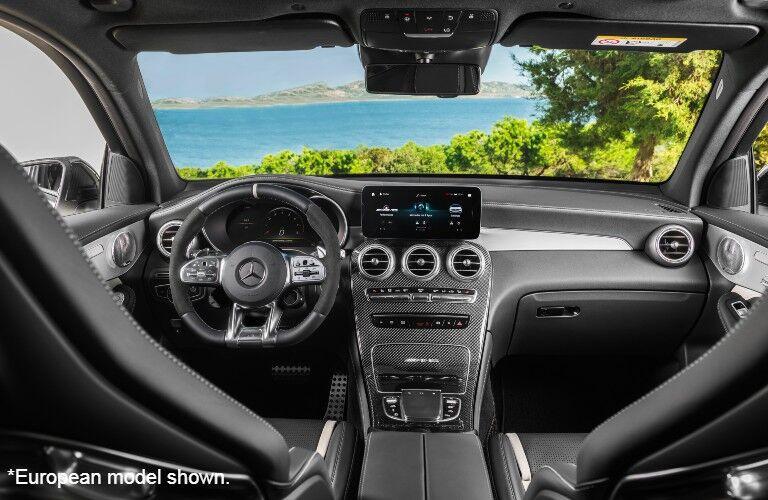 European model Front dash in 2022 Mercedes-AMG® GLC 63 S SUV