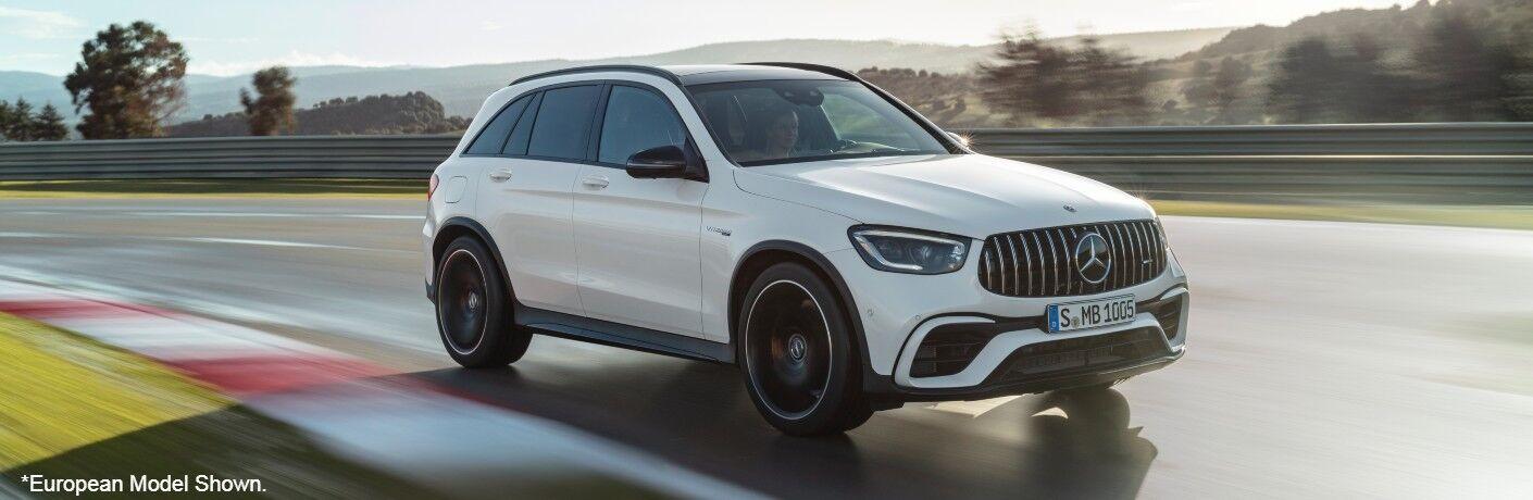 European model of 2022 Mercedes-AMG GLC 63 S