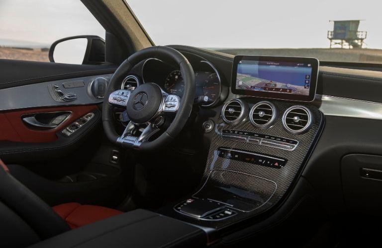 Front dash of Mercedes-Benz GLC 43