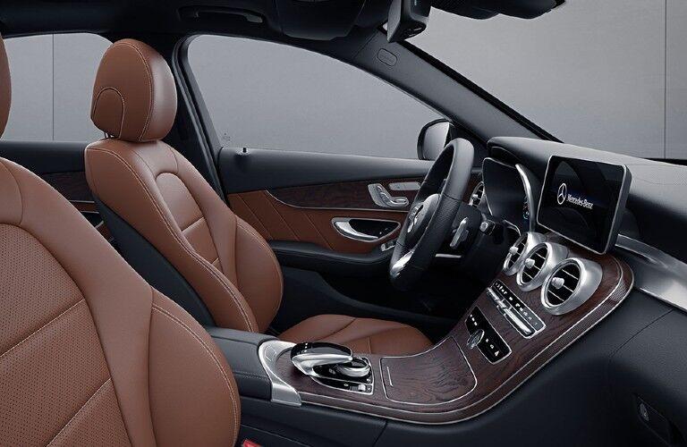 2021 Mercedes-Benz C-Class infotainment
