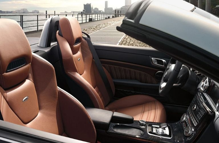 Front seats of 2020 Mercedes-Benz SLC