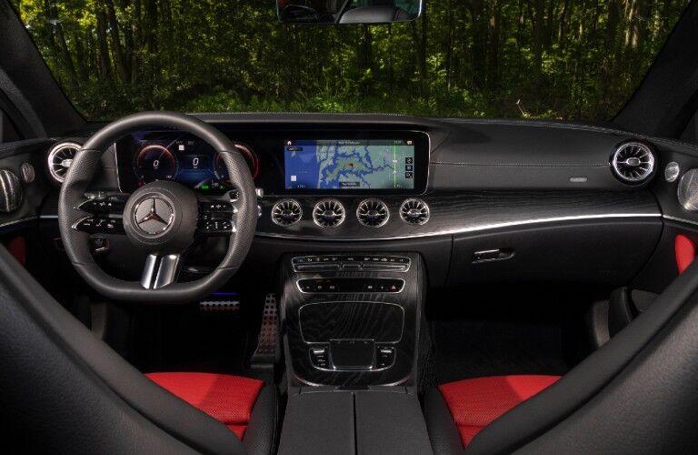 2021 Mercedes-Benz E-Class Coupe front dash