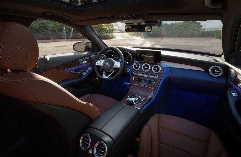 Interior of 2020 Mercedes-Benz C-Class