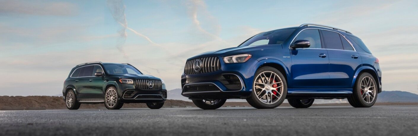 Two 2021 Mercedes-Benz GLE models
