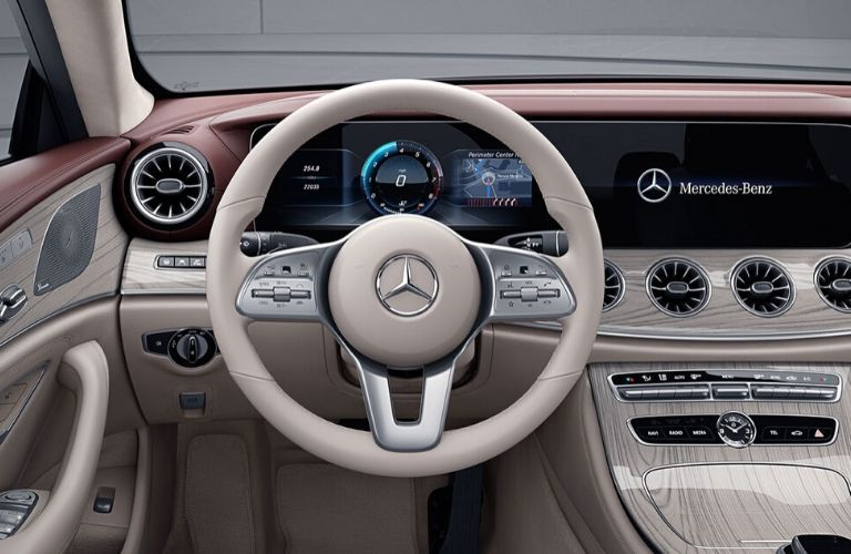 Steering-wheel on 2020 Mercedes-Benz CLS