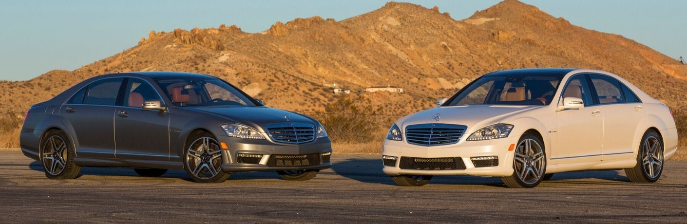 Two 2013 Mercedes-Benz S-Class models
