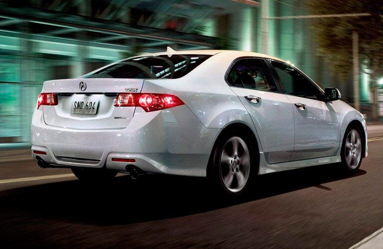Pre-Owned Acura TSX white back