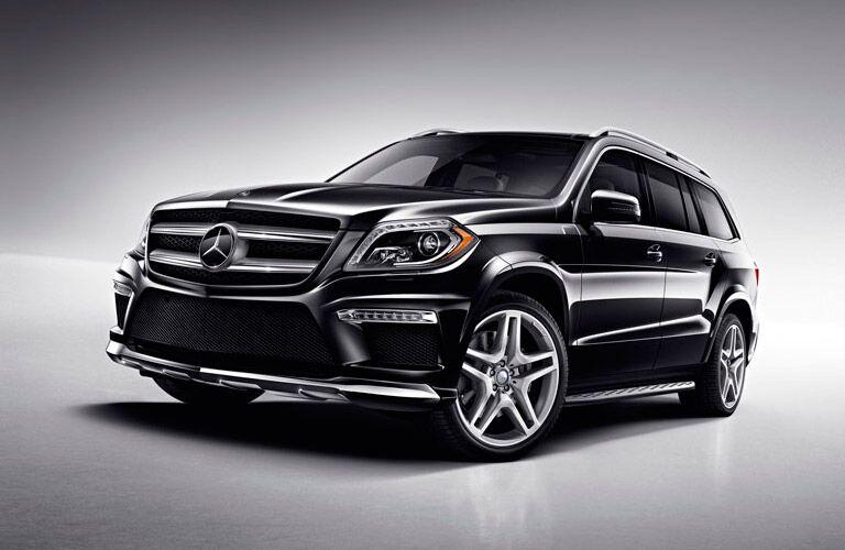 Exterior of Black Mercedes-Benz GL-Class