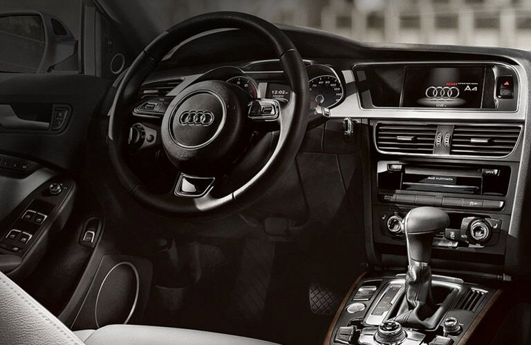 Pre-Owned Audi A4 Interior in Black