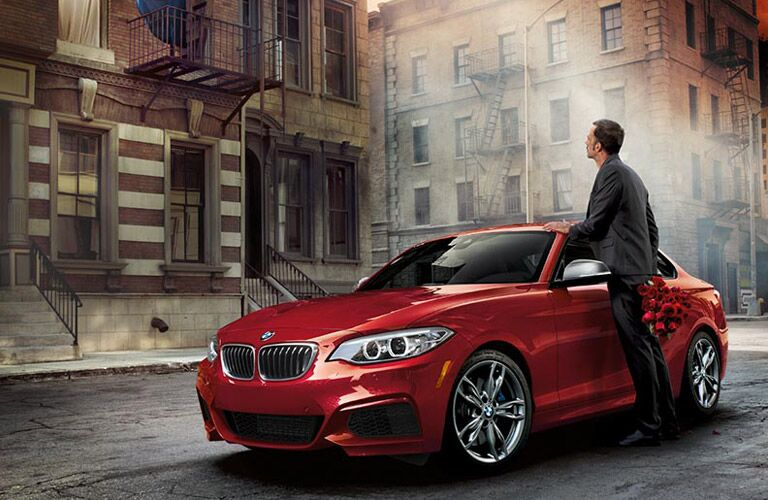 BMW Series 2 Exterior View in Red