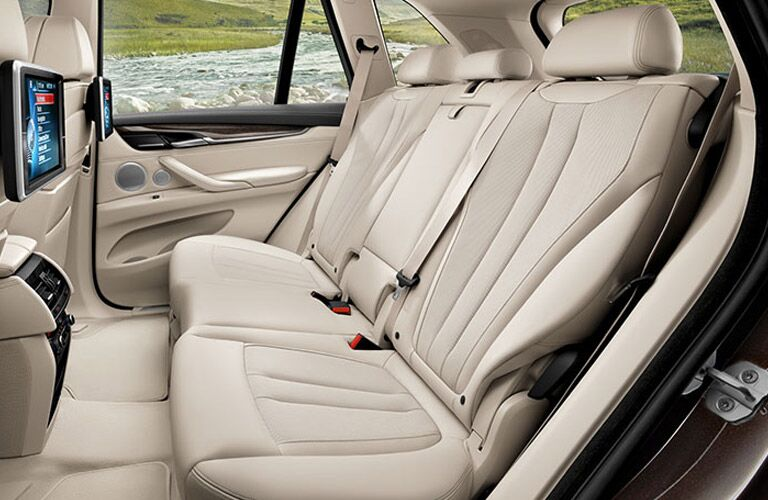 View of Interior Seating of BMW X5