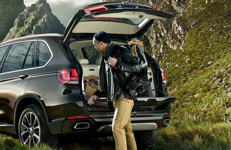 View of Cargo Space in BMW X5
