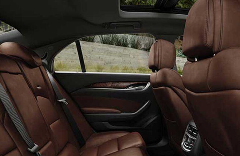 Cadillac CTS back seats