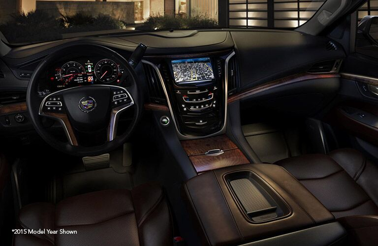 View of Technology in the Cadillac Escalade