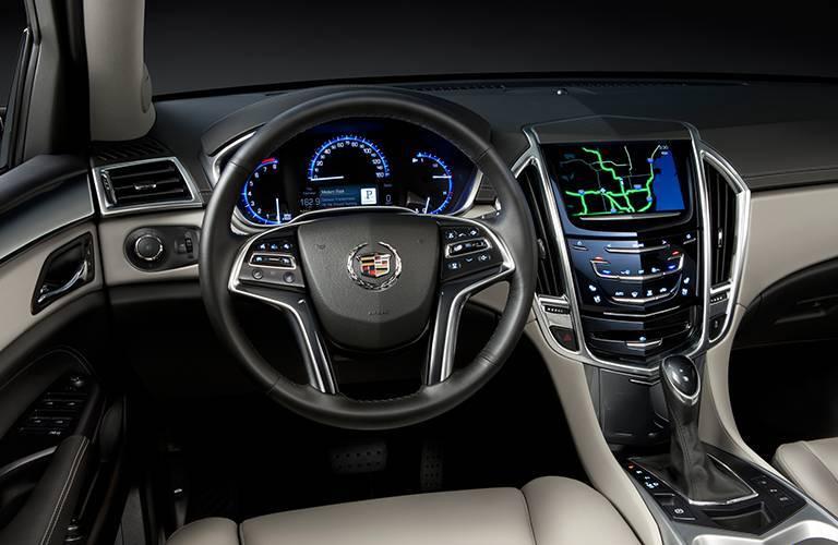 Cadillac SRX steering wheel