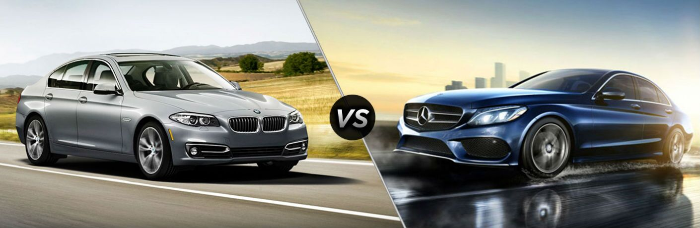 Pre-Owned BMW 5 Series vs Pre-Owned Mercedes-Benz C-Class
