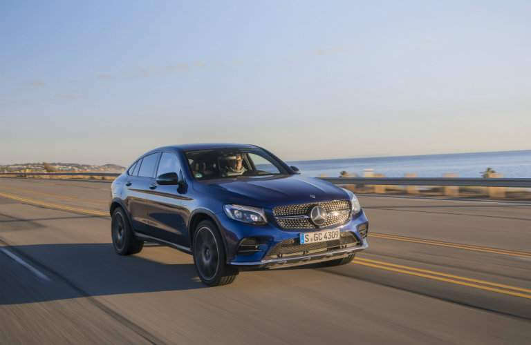 2017 AMG GLC 43 Brilliant Blue Metallic