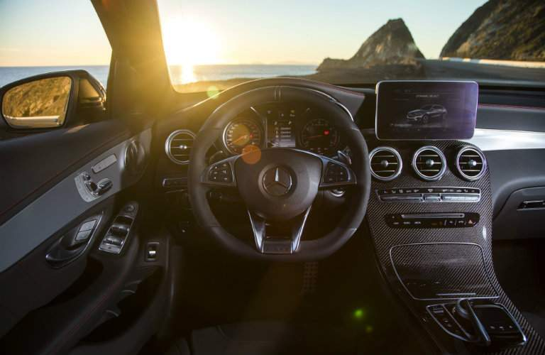 2017 AMG GLC 43 sport steering wheel