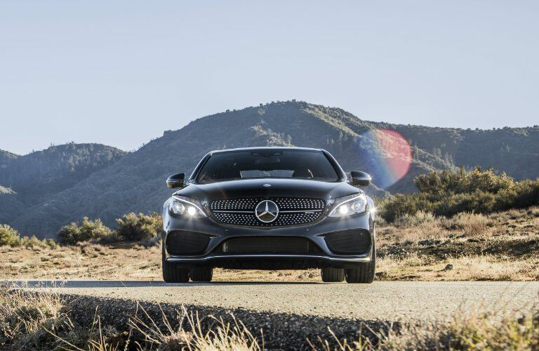 Mercedes-AMG C 43 by mountain